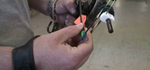 Accurately shoot a compound bow
