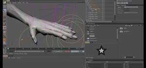 Create a basic hand rig within MAXON Cinema 4D