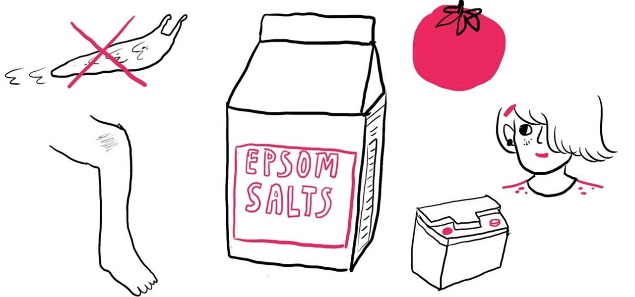 7 More Unexpected Uses for Epsom Salt