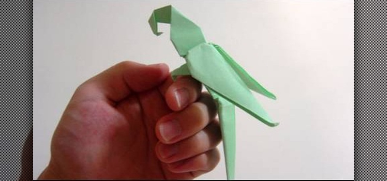 How To Fold An Advanced Origami Macaw Parrot
