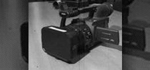 Use the Panasonic HVX-200 video camera
