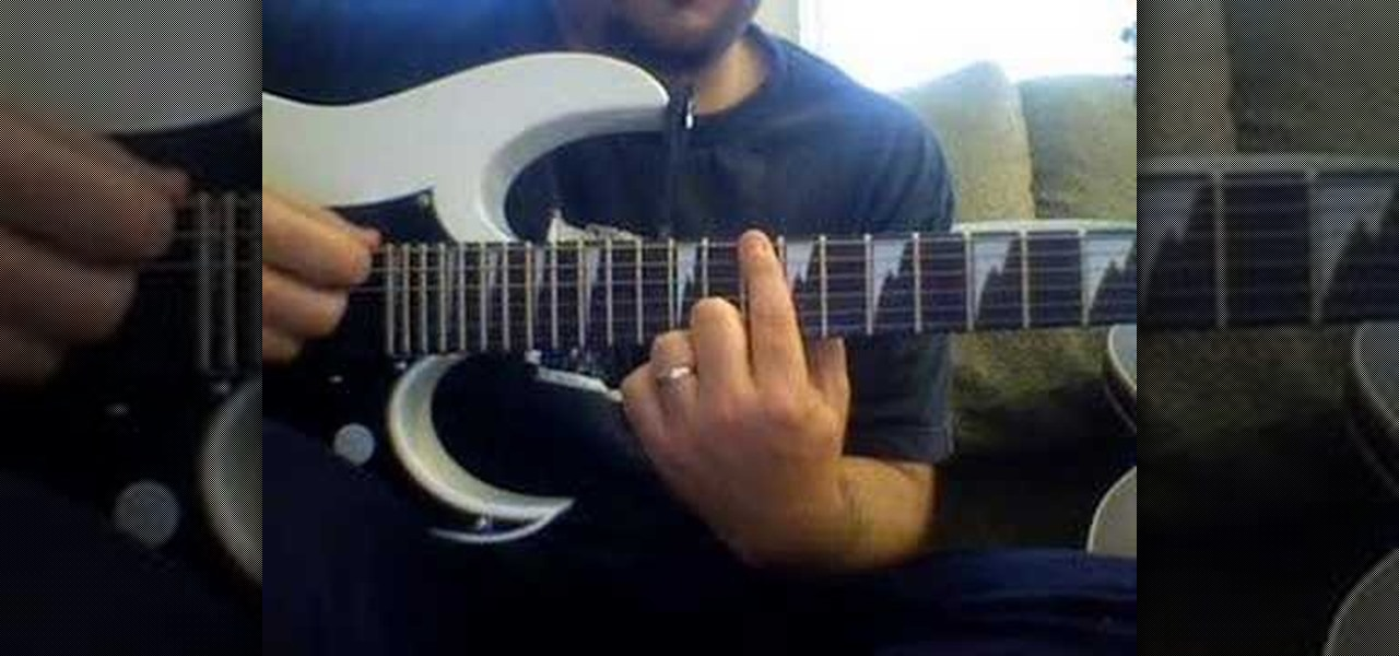 how to play tnt by ac dc on electric guitar electric guitar wonderhowto. Black Bedroom Furniture Sets. Home Design Ideas