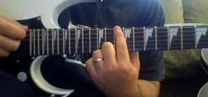 "Play ""TNT"" by AC/DC on electric guitar"