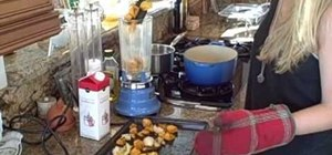 Make roasted butternut squash soup