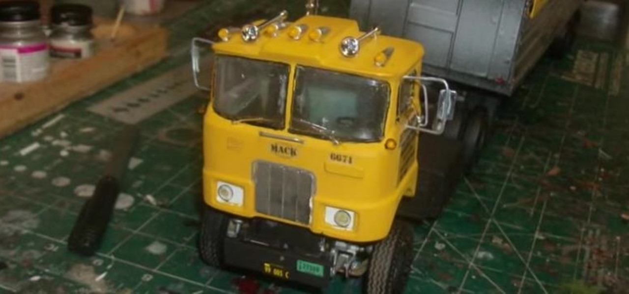 Build a '60s Mack F Series Cabover Conversion Model Truck