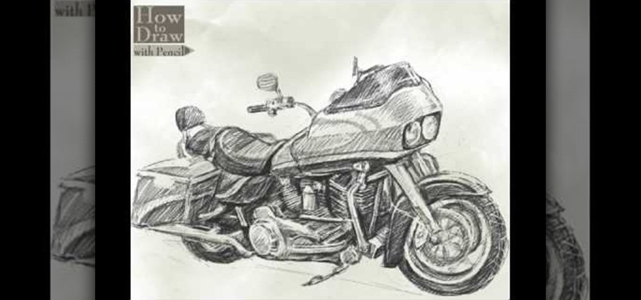 Harley Parts Drawings How to Draw a Harley-davidson