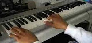 "Play ""Lovers & Friends"" by Usher on piano"