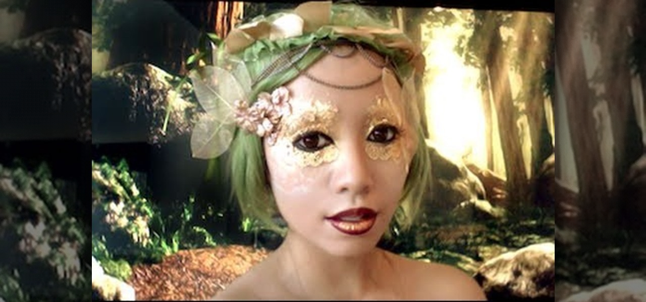 How To Create An Enchanting Forest Fairy Makeup Look For Halloween