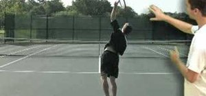Swing & pronate your tennis serve