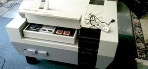 how to turn your old nes controller into a wireless light. Black Bedroom Furniture Sets. Home Design Ideas