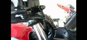 Check the brake system for motorcycle safety