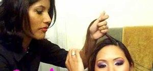 Do a Lauren Conrad daytime braided hairstyle
