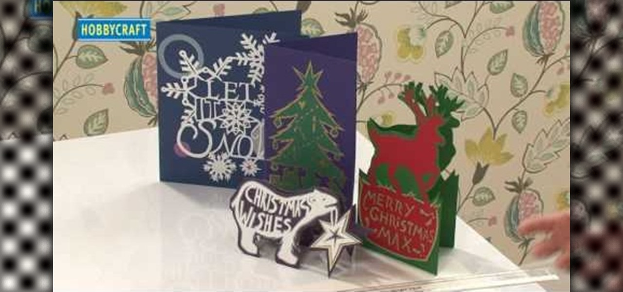 How to Craft professional-looking Christmas papercut cards ...