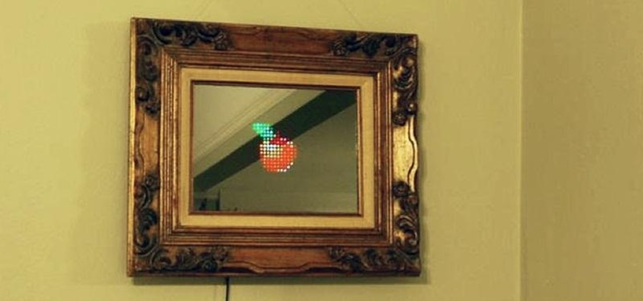 "Make a Digital ""Magic Mirror"" That You Can Control from Your Phone"