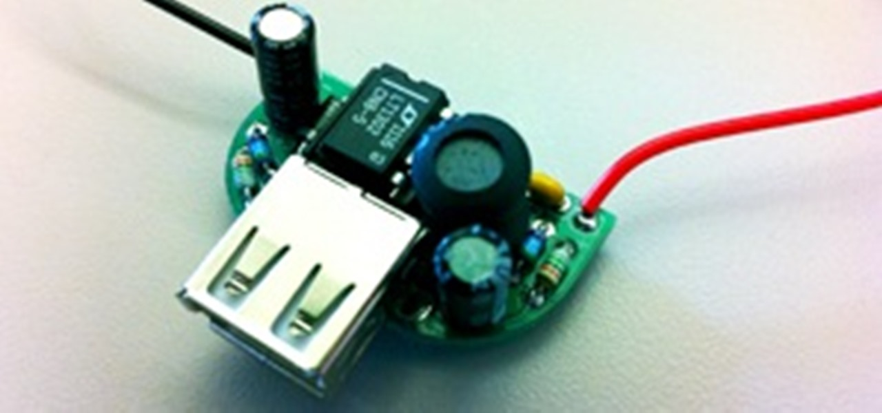 Make a DIY Battery-Powered USB Charger