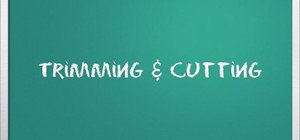 how to make cuts in windows movie maker