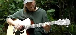 Play a jazz progression on acoustic guitar