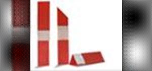 Origami a lipstick tube Japanese style