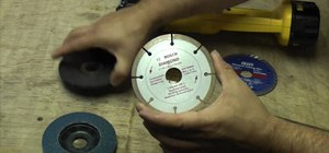 Select the right disc for your angle grinder or cut-off tool