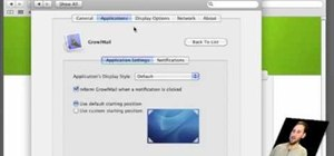 Receive notifications with Growl in Mac OS X