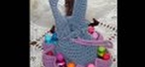 Make a crochet Bingo bag for left handers