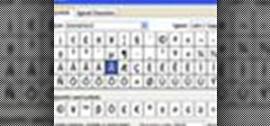 Insert special characters in MS Word 2007