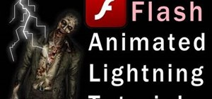 Create a lightning storm effect in Adobe Flash