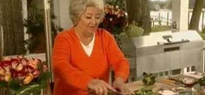 Make grilled pineapple pork chops with Paula Deen