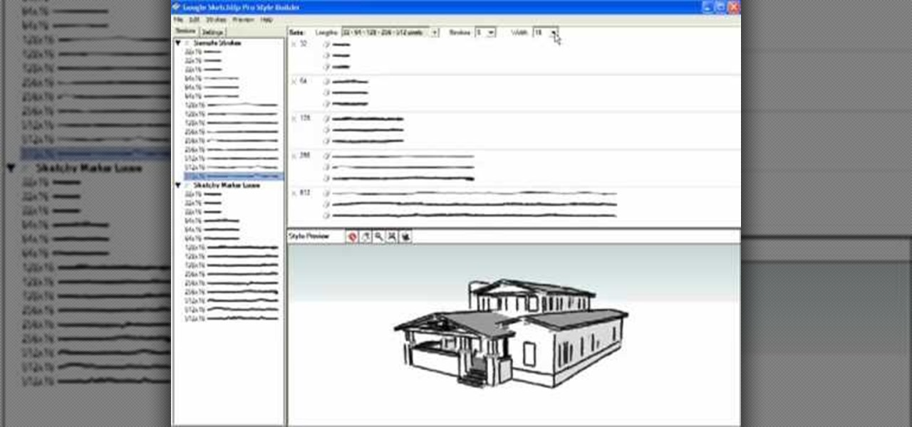 How to Use Style Builder in Google SketchUp « Software Tips ...