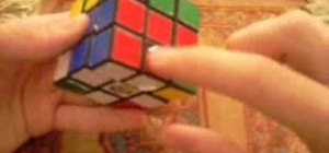 Solve a Rubik's Cube F2L with the Fridrich Method
