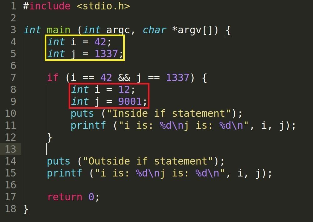 Security-Oriented C Tutorial 0x12 - Scope