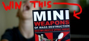 Your Favorite Completed DIY Project by August 8th. WIN: How-To Book, Mini Weapons of Mass Destruction [Closed]