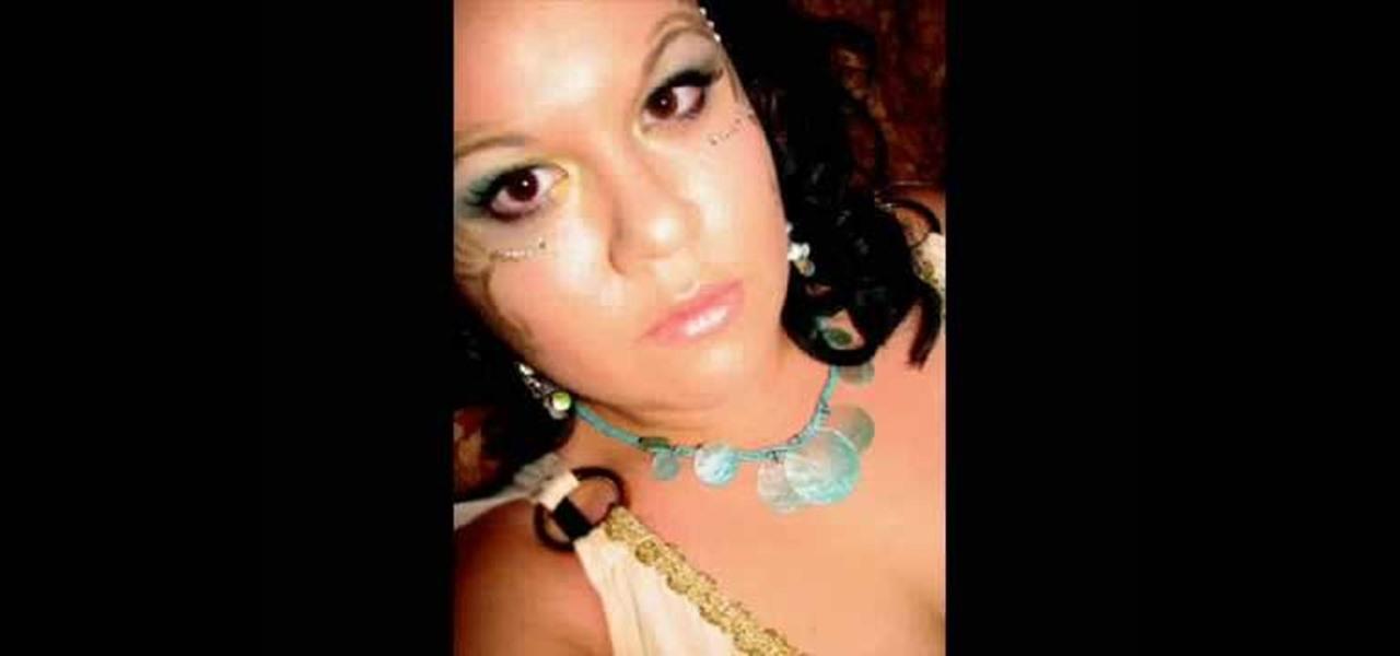 Goddess Halloween Makeup
