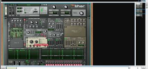 Create drums sounds using Reason's Thor synthesizer