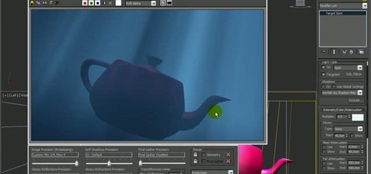 How to Create underwater lighting in 3D Studio Max « Autodesk 3ds Max  WonderHowTo & How to Create underwater lighting in 3D Studio Max « Autodesk 3ds ... azcodes.com
