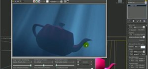 Create underwater lighting in 3D Studio Max