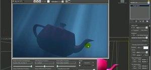 Create underwater lighting in 3D Studio Max