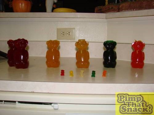 HowTo: Hatch Giant Gummi Bears
