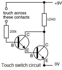 make simple touch triggered transistor relay.w654 through fog light relay wiring,fog free download printable wiring fog light relay wiring diagram at eliteediting.co