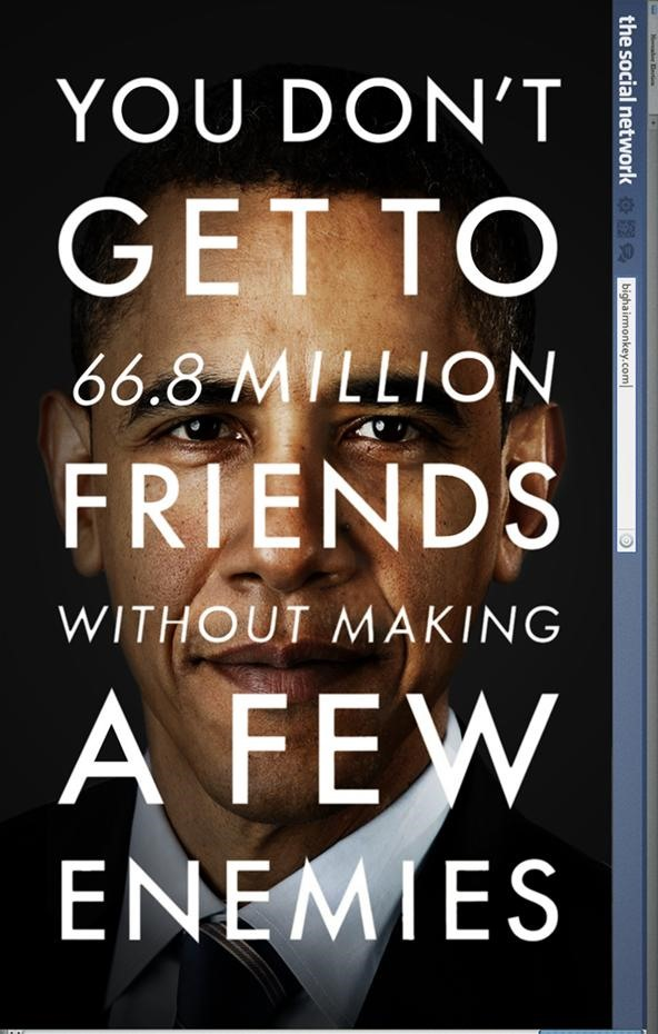 the social network starring Barack Obama