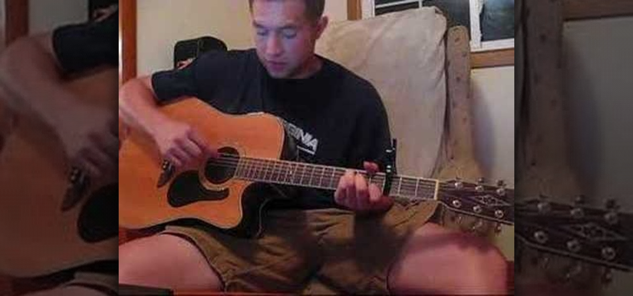 """How to Play """"You're Beautiful"""" by James Blunt on guitar"""