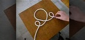 Tie the spanish bowline knot