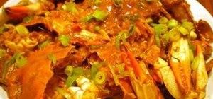 Make Singaporean-style chili crab