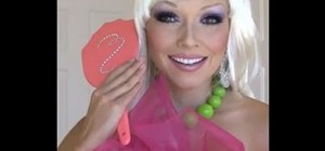 Get the Barbie makeup look