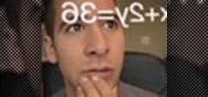 Solve an algebraic equation