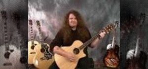 Learn methods of strumming for the acoustic guitar