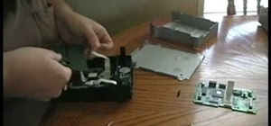 Repair and replace the DVD drive in your XBox 360