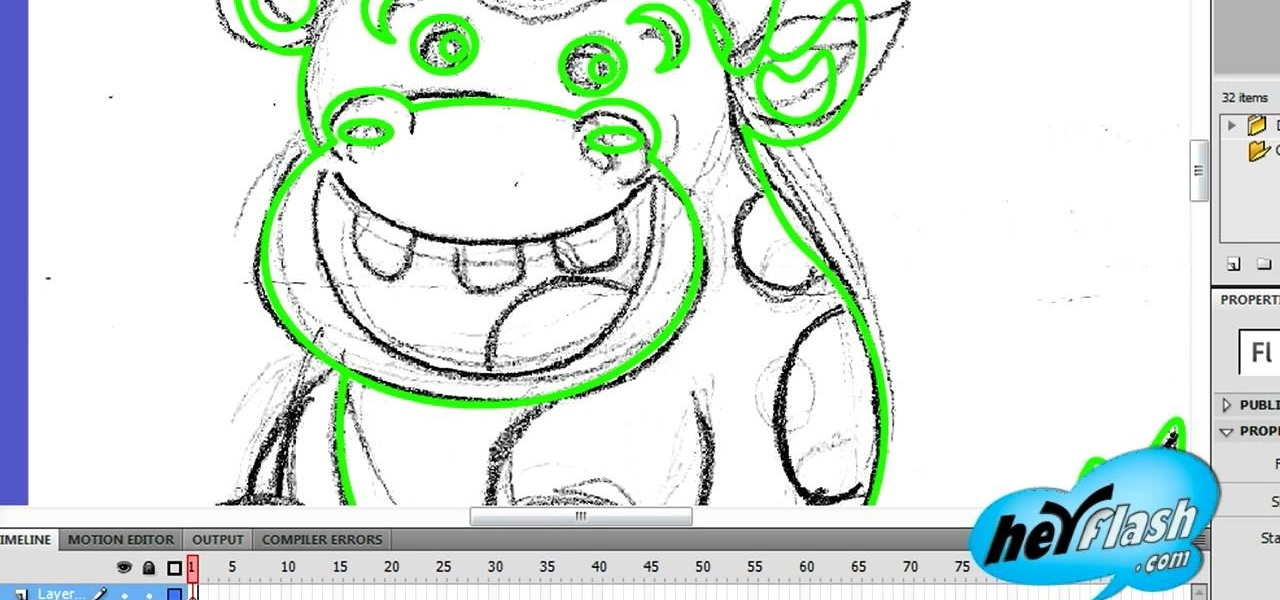 How To Use Basic Tools To Draw A Flash Character 171 Adobe