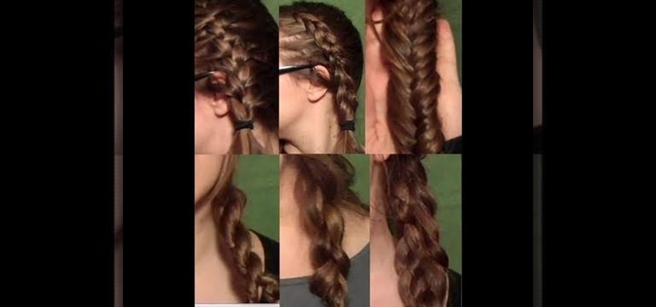How To Do A French Braid Dutch Braid Fish Braid Rope Braid And 4 5 Strand Braids Hairstyling Wonderhowto