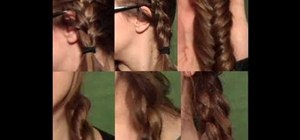 Do a French braid, Dutch braid, fish braid, rope braid, and 4/5 strand braids